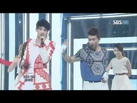 제국의 아이들 [후유증] @SBS Inkigayo 인기가요 20120708