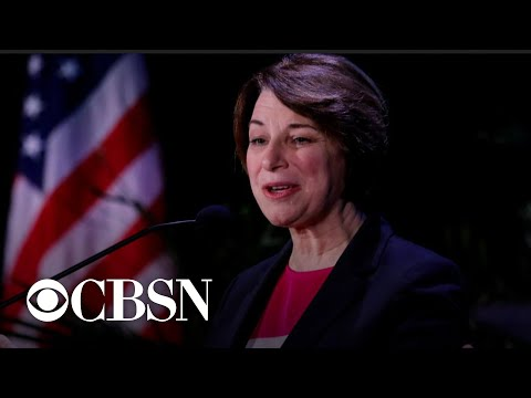 Amy Klobuchar says her moderate approach makes her the only candidate who can beat Trump in 2020