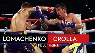 FULL FIGHT! Vasyl Lomachenko vs Anthony Crolla - YouTube