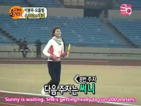 [ENG] SNSD MBC Enjoy today 5/5