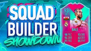FIFA 19 SQUAD BUILDER SHOWDOWN!!! STRIKER FUT BIRTHDAY GARETH BALE!!!