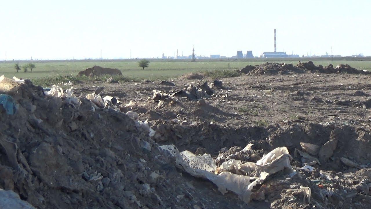 Волгоградские отходы оставили жителям Светлого Яра