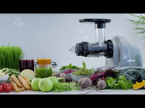 video BioChef Axis Cold Press Juicer