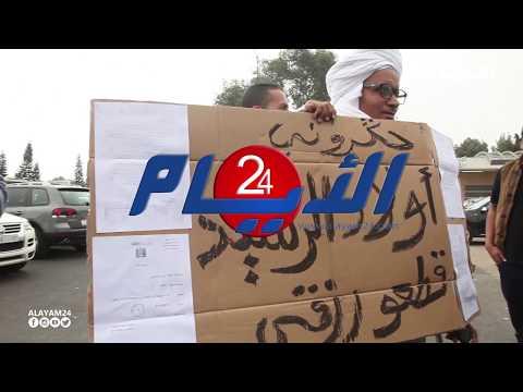 بالفيديو..لافتة ضد ولد الرشيد توتر أجواء الإنتخابات بالاستقلال