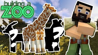 I'm Building A Zoo In Minecraft! - New Multi Species Exhibit Build! - EP10