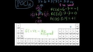 Example 2- Drawing the Lewis Structure for POCl3