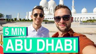 Abu Dhabi in 5 Minuten 👳☀ Sehenswertes von Abu Dhabi bis Dubai
