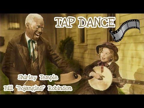 """Shirley Temple & Bill """"Bojangles"""" Robinson - Tap Dancing Scene"""