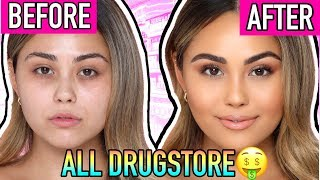 Ultimate Drugstore Makeup Tutorial for Beginners (using my drugstore starter kit!) | Roxette Arisa