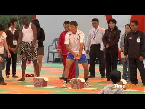 Репортаж с Chungju World Martial Arts Festival. Test interrupting tile