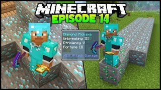 Minecraft: 42 Diamond Ore VS Fortune 3 - Episode 14 (PS4 Survival Let's Play #2)
