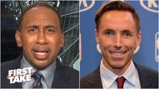 Stephen A. Smith isn't budging on his stance about the Nets hiring Steve Nash | First Take