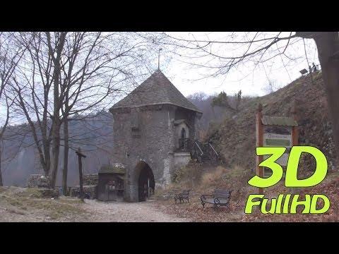 [3DHD] Walkig Tour/Spacer: Ojcow Castle, Ojcow, Poland / Zamek w Ojcowie, Ojców, Polska