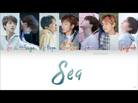 BTS (방탄소년단) - 'Sea(바다)' [Color Coded Han|Rom|Eng lyrics]