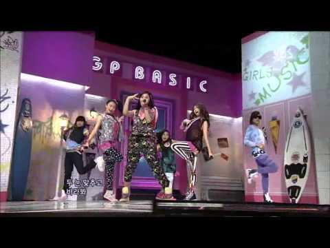 GP Basic - Game (GP베이직 - 게임) @ SBS Inkigayo 인기가요 100815