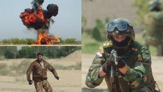نسر الصعيد - مشهد قوي عن فدائية الجيش المصري ضد الجماعات وأعداء ...