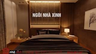 Phòng ngủ Master phong cách hiện đại | nhà phố đẹp cô Hoa quận 6 | Ngôi Nhà Xinh giới thiệu