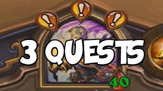 Completing 3 Quests in One Game