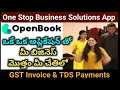 One Stop Application for Business | Open Book Application for Billing, Banking, Accounting & GST