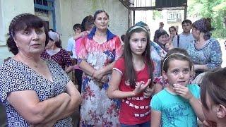 Встреча Евкурова с переселенцами в Карабулаке (Ингушетия)