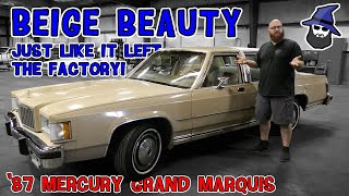 Beige Beauty! The CAR WIZARD's new ride: '87 Mercury Grand Marquis! Still in factory condition!