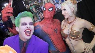 SPIDER-MAN vs THE JOKER - Real Life Superhero Movie