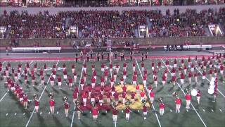 'Halftime Performance (9/6/14) - Pride of the Plains Marching Band