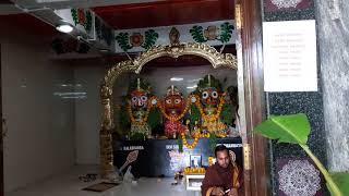 Harinaam Sankirtan Astoprohor at Sarbamurthy Temple Jalahalli East Bangalore By Hare Krishna Group
