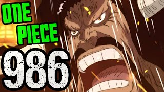 "One Piece Chapter 986 Review ""Tears of Revenge"" 