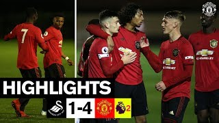U23 Highlights   Swansea 1-4 Manchester United   The Academy