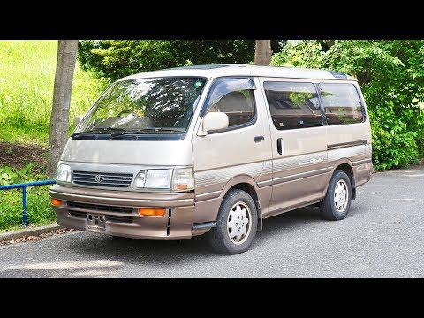 1994 Toyota Hiace Turbo Diesel 3000cc (USA Import) Japan Auction Purchase Review