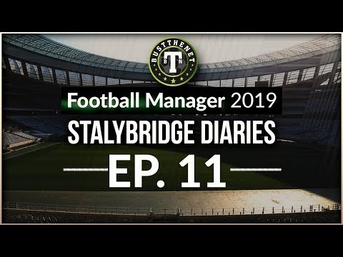 Stalybridge Diaries Time for a 442!  Football Manager 2019