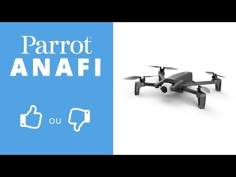 video PARROT Anafi