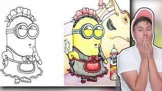 Most Disturbing Children Coloring Book Drawings!