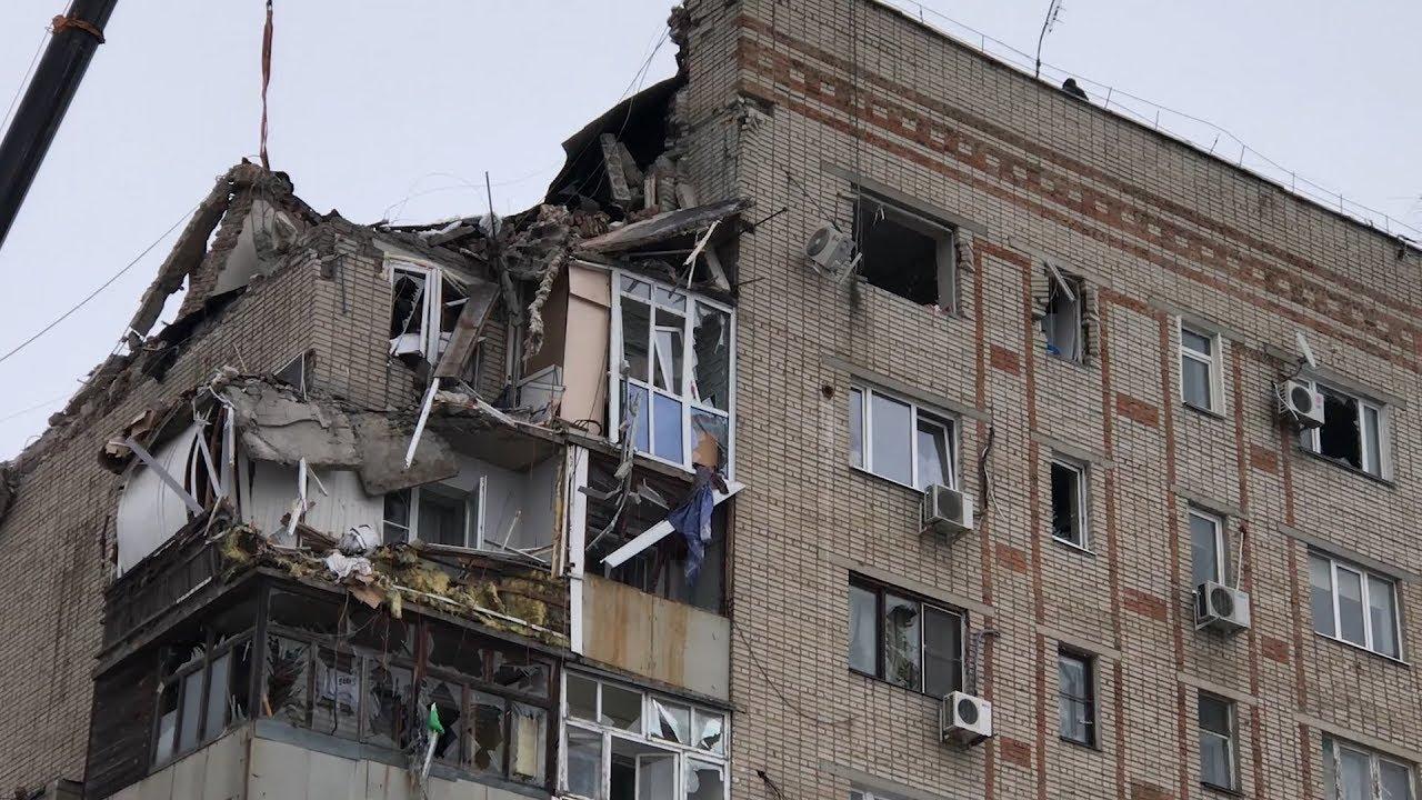 Взрыв в Шахтах: спасатели ищут людей под завалами
