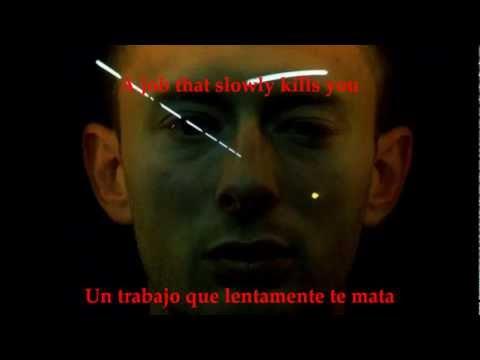 RADIOHEAD - NO SURPRISES/SUBTITULADO (INGLES/ESPAÑOL)