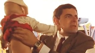 Nappy Trouble | Funny Clips | Mr Bean Official