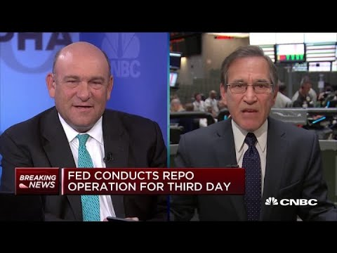 Fed conducts repo operation for a third day