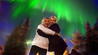 WE SAW THE NORTHERN LIGHTS!!!