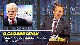 Russia Probe Clouds Trump's G20 Summit: A Closer Look