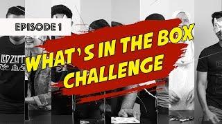 What's In The Box Challenge (Episode 1)   Caliph Buskers, Aziz Harun, Sissy Imann, Faizal Tahir