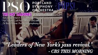 PSO Pops! and The Hot Sardines join forces