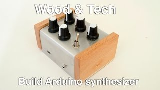 Build Arduino synthesizer with Mozzi library