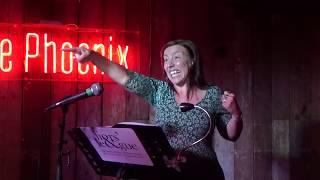 Trouble at the Uptown Espresso by Kristin King, read by Sarah Gain