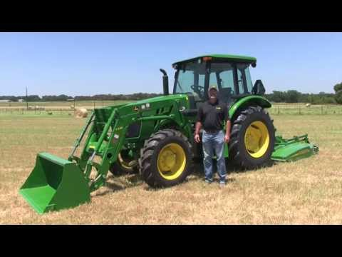 John Deere 5000E Series Oil Check