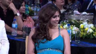 Indian television artists perform at the SAIFTA 2013 awards in South Africa
