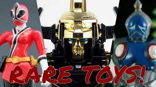 Top 5 RAREST & MOST VALUABLE Power Rangers Toys!