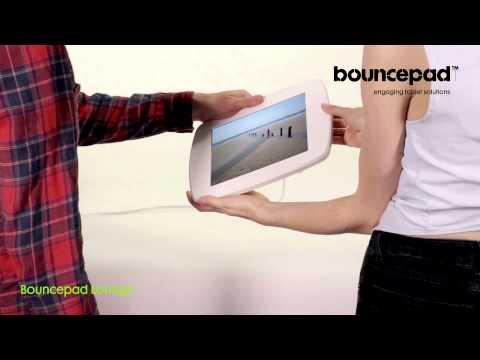Secure iPad enclosures - the Bouncepad Lounge