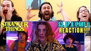 "STRANGER THINGS | Season 3 FINALE ""Chapter 8: The Battle Of Starcourt"" REACTION!!! (Part 1)"