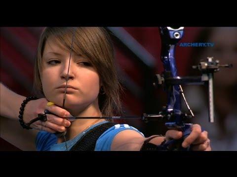 Kristina Timofeeva v Anastasia Pavlova – recurve junior women's gold final |Las Vegas 2012